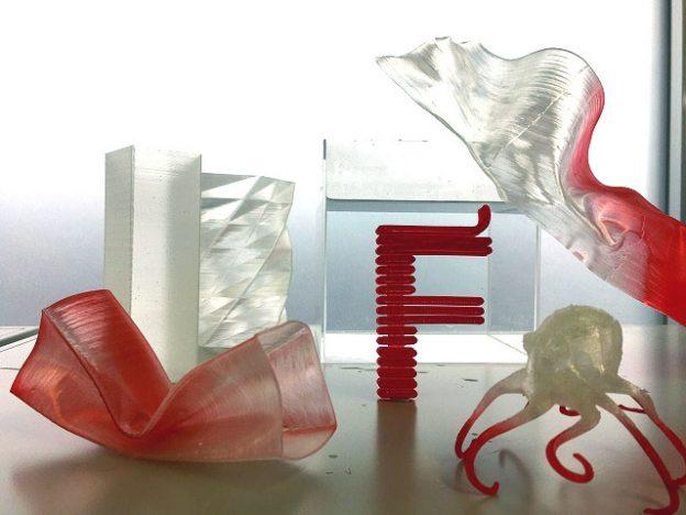 業界初!造形後に形状カスタマイズ可能な 3Dプリンター用「形状記憶ポリマー」
